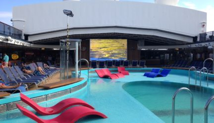 Dive in movies on Carnival Spirit