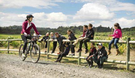 Megan Gale, Pa Harakeke, The Timber Trail – Tourism New Zealand