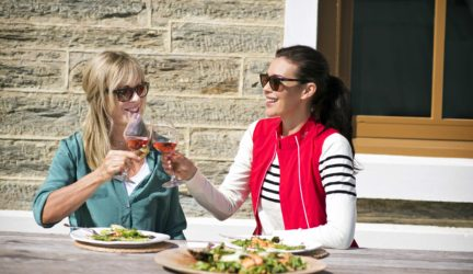 Megan Gale and Annabel Langbein, Ophir, Central Otago – Tourism New Zealand