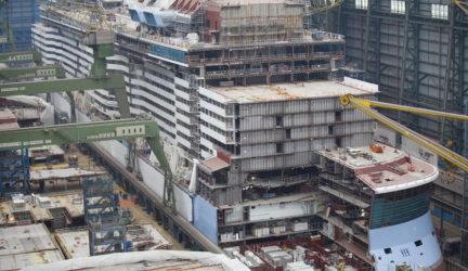 Ovation of the Seas under construction Oct 2015 (2)
