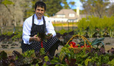 Parklands Kitchen Garden with Chef