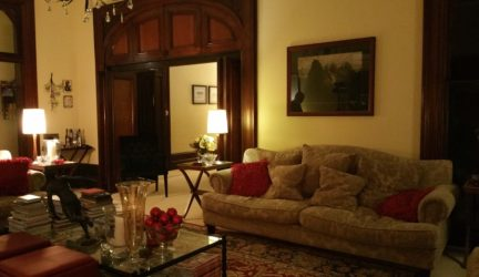 Relax in the comfey lounges at Bishops Court Estate